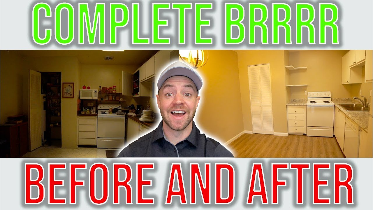 Complete BRRRR Rental From Start to Finish in 5 Min   Real Life BRRRR Method Example
