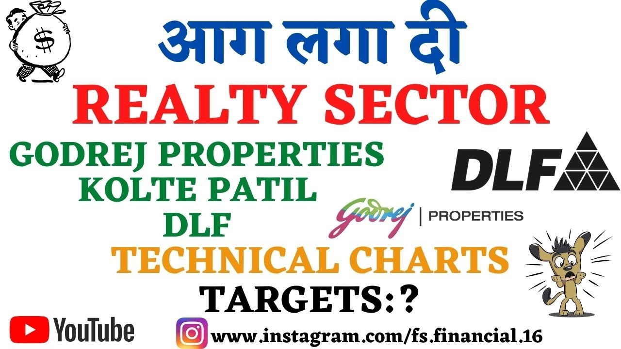 KOLTE PATIL SHARE   DLF SHARE   GODREJ PROPERTIES SHARE   REALTY SHARES   WHAT TO DO? TARGETS?
