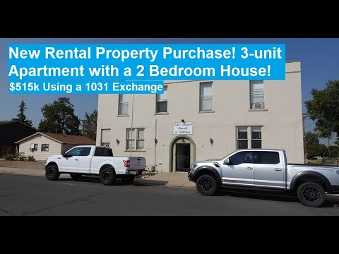 New Rental Property Purchased Using a 1031 Exchange: 1910 3-Plex Plus a 2 Bedroom House! (#35)