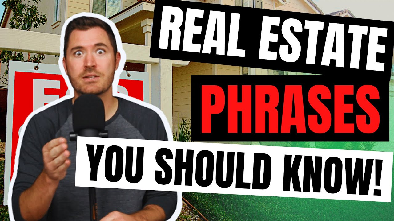 16 Phrases Every Beginner Real Estate Investor Should Know