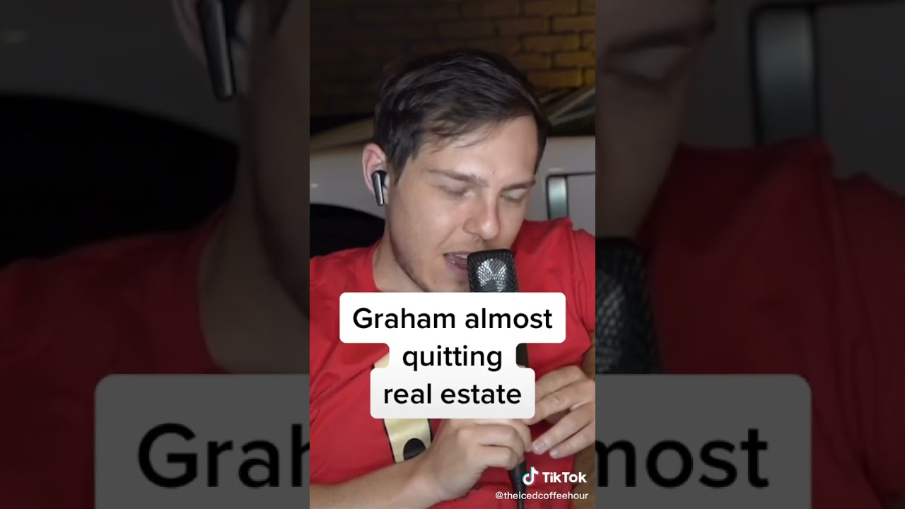 Graham Stephan almost quit real estate