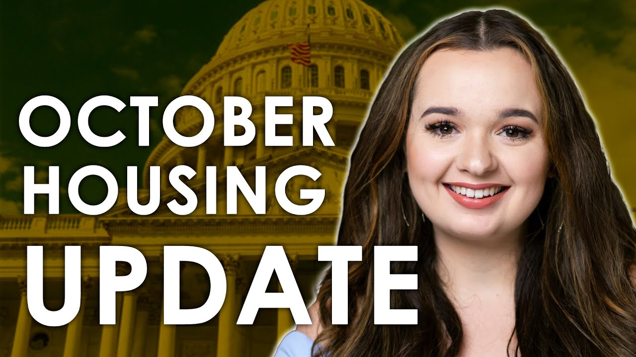 Housing Market Shifts For Home Buyers - October Market Update
