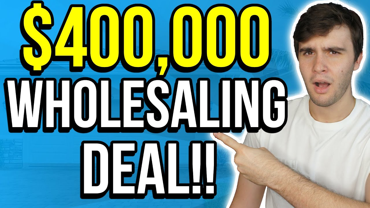How Tyler is Making $400,000 from a Referral! | Wholesaling Real Estate
