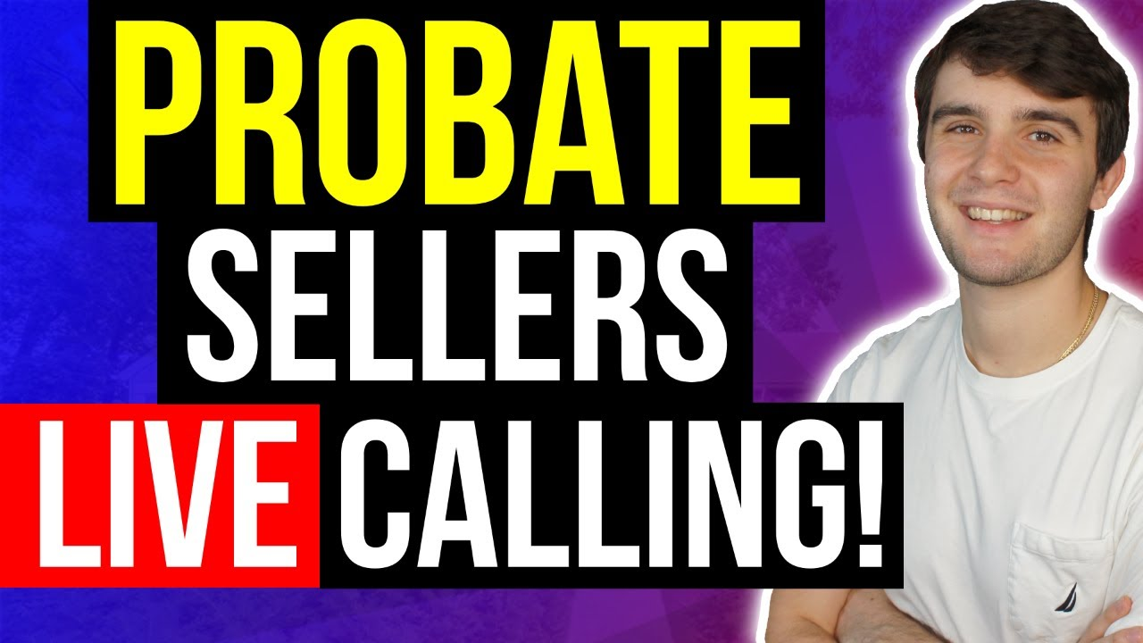(LIVE) Probate Cold Calling Motivated Sellers | Wholesaling Real Estate