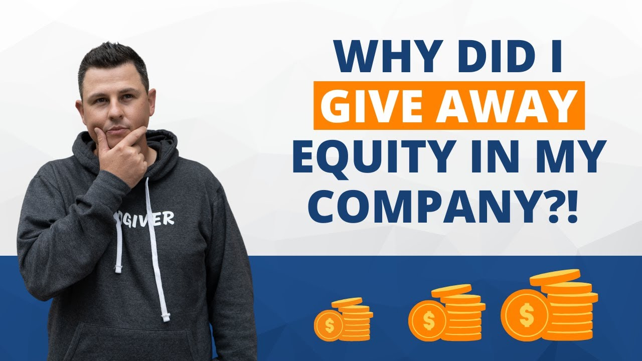 Why I Gave Up Equity In My Real Estate Company